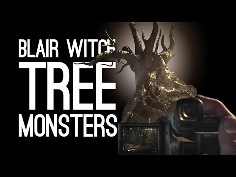 Blair Witch Gameplay: TREE MONSTERS? (Let's Play Blair Witch Episode 2)