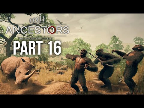 ANCESTORS THE HUMANKIND ODYSSEY Gameplay Walkthrough Part 16 - EVOLVING 1.5 MILLION YEARS