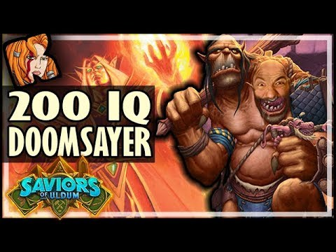 DOOMSAYER HAS A MIND OF ITS OWN! - Saviors of Uldum Hearthstone