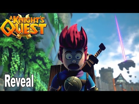 A Knight's Quest - Reveal Trailer [HD 1080P]