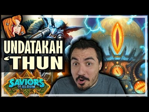 UNDATAKAH-THUN WARRIOR! The Ultimate Surprise Deck - Saviors of Uldum Hearthstone