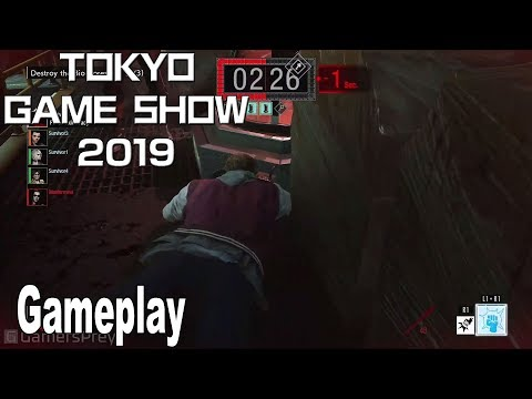 Project Resistance - Gameplay Demo TGS 2019 [HD 1080P]