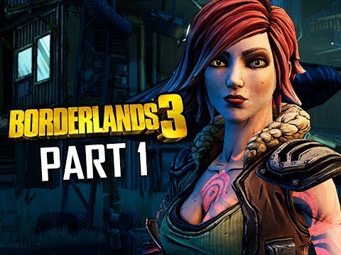 BORDERLANDS 3 Walkthrough Gameplay Part 1 - Full Game Intro (Let's Play Commentary)
