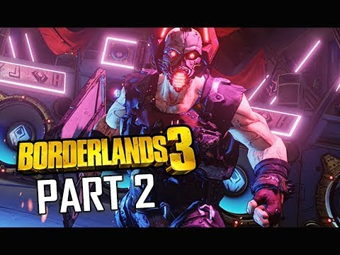 BORDERLANDS 3 Walkthrough Gameplay Part 2 - VR World (Let's Play Commentary)