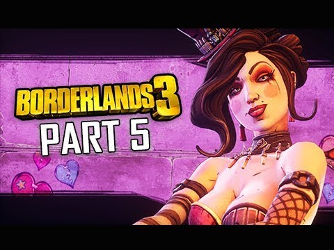 MOXXIE and Sanctuary - BORDERLANDS 3 Walkthrough Gameplay Part 5 (Let's Play Commentary)