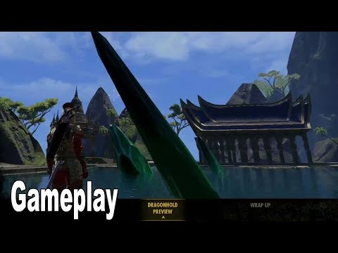 The Elder Scrolls Online: Dragonhold - Gameplay Demo [HD 1080P]