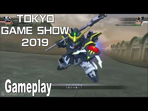 SD Gundam G Generation Cross Rays - Gameplay Demo TGS 2019 [HD 1080P]