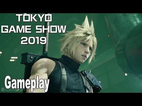 Final Fantasy VII Remake - Gameplay Demo TGS 2019 [HD 1080P]