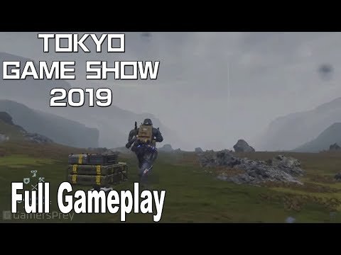 Death Stranding - Full Gameplay Demo TGS 2019 [HD 1080P]