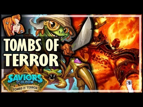YOU NO BEAT FINLEY! ROUND 2?! - HEROIC Tombs of Terror Chapter 1 - Saviors of Uldum Hearthstone