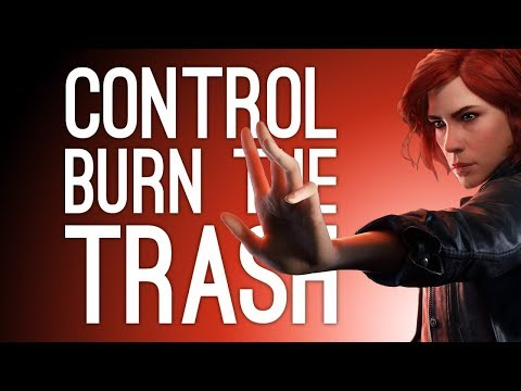 Control Gameplay: Burn the Trash! (Let's Play Control Episode 3)