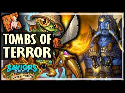 123 ATTACK HERO CRUSTY! - HEROIC Tombs of Terror Chapter 2 - Saviors of Uldum Hearthstone