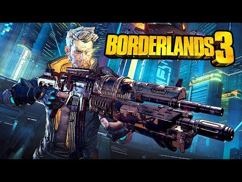 Borderlands 3 Gameplay Walkthrough, Part 3! (Borderlands 3 PC Live Gameplay)