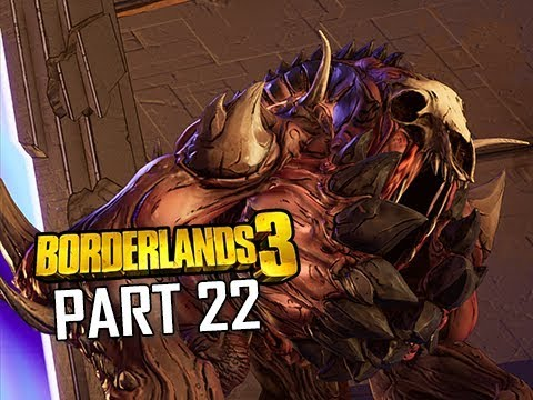 VAULT BOSS RAMPAGER - BORDERLANDS 3 Walkthrough Gameplay Part 22 (Let's Play Commentary)