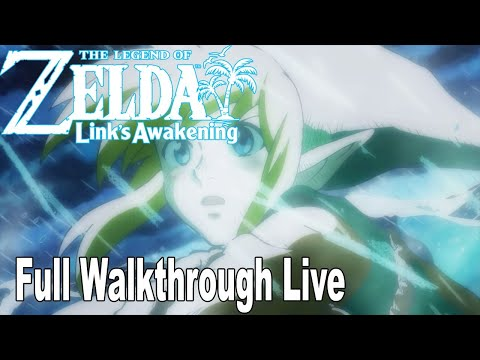 The Legend of Zelda: Link's Awakening Remake - Full Gameplay Walkthrough No Commentary [HD 1080P]