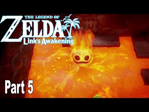 The Legend of Zelda: Link's Awakening Remake - Gameplay Walkthrough Part 5 No Commentary [HD 1080P]