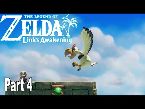 The Legend of Zelda: Link's Awakening Remake - Gameplay Walkthrough Part 4 No Commentary [HD 1080P]