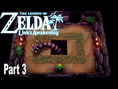 The Legend of Zelda: Link's Awakening Remake - Gameplay Walkthrough Part 3 No Commentary [HD 1080P]