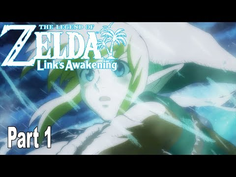 The Legend of Zelda: Link's Awakening Remake - Gameplay Walkthrough Part 1 No Commentary [HD 1080P]
