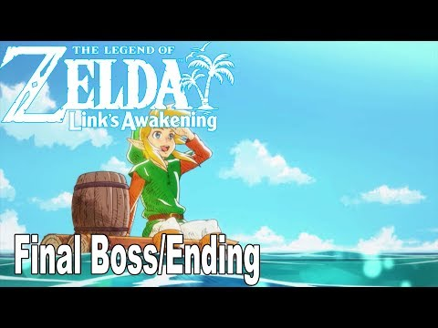 The Legend of Zelda: Link's Awakening Remake - Final Boss and Ending [HD 1080P]