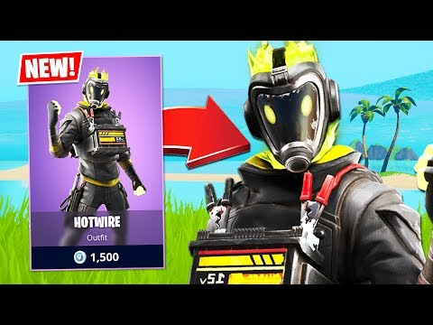 RANDOM DUOS!! New Hotwire Skin! *Pro Fortnite Player* // 2,500 Wins (Fortnite Battle Royale)