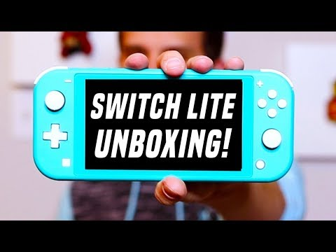 Switch Lite Unboxing and Vs. Nintendo Systems!