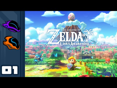Let's Play The Legend of Zelda: Link's Awakening - Switch Gameplay Part 1 - Back In My Day...