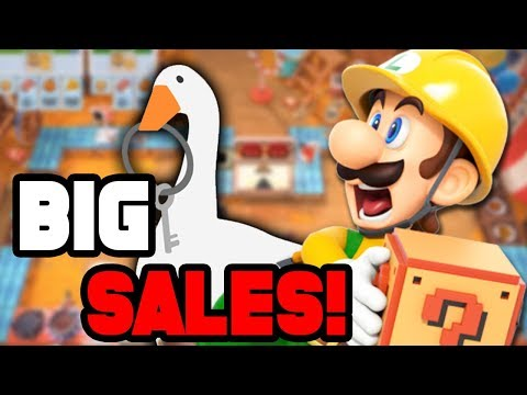 10+ Great Switch Sales NOW For Your NEW Switch Lite!