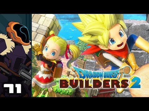 Let's Play Dragon Quest Builders 2 - PS4 Gameplay Part 71 - Roof Pool? Roof Pool.