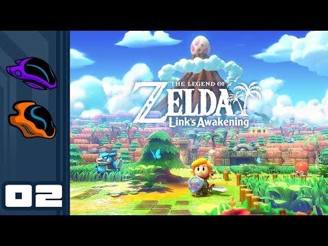 Let's Play The Legend of Zelda: Link's Awakening - Switch Gameplay Part 2 - Vague Memories