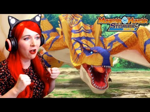A Monstie Is Born! - Monster Hunter Stories Ride On Episode 2 Reaction Video