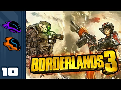 Let's Play Borderlands 3 [Co-Op] - PC Gameplay Part 10 - What Do They Put In The Coffee Here?