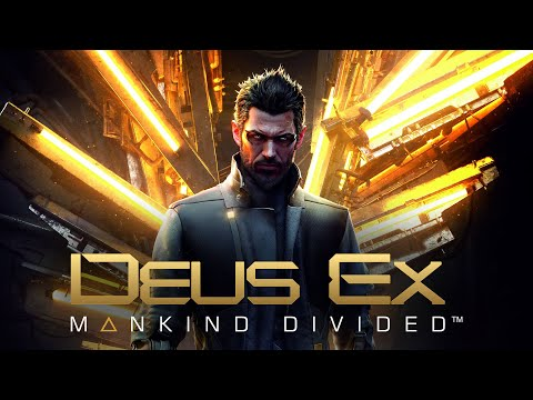 Deus Ex: Mankind Divided Cyberpunk Stealth - Palisade Bank Heist (Ghost, Pacifist)