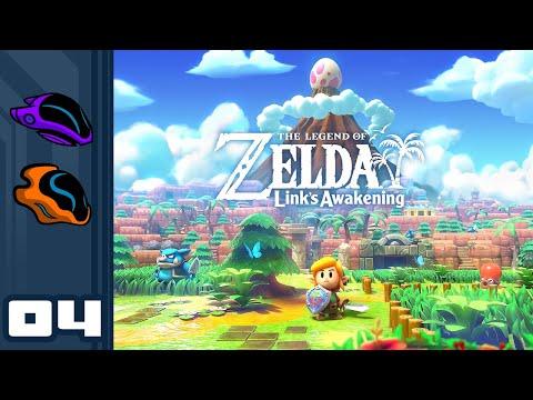 Let's Play The Legend of Zelda: Link's Awakening - Switch Gameplay Part 4 - Zelda Maker