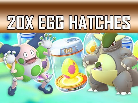 SHINY REGIONAL HUNTING!!! - Hatching 20x 7KM Eggs (Pokemon GO)
