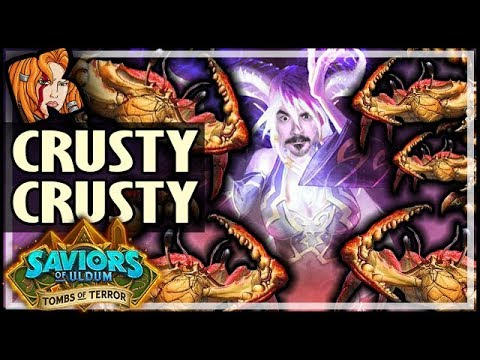 CRUSTY THE CRUSTY = EZ WINS! - Tombs of Terror Heroic Hearthstone