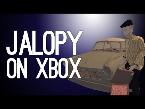 Jalopy Xbox One Gameplay: SOMEONE STOLE OUR ENGINE?! (Let's Play Jalopy on Xbox One)