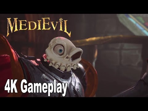 MediEvil Remake (2019) - Gameplay Demo Walkthrough No Commentary [4K]