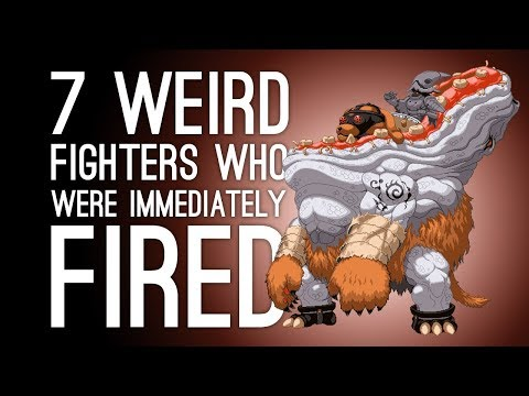 7 Weirdest Fighting Game Characters Who Were Fired After One Game (Part 2)
