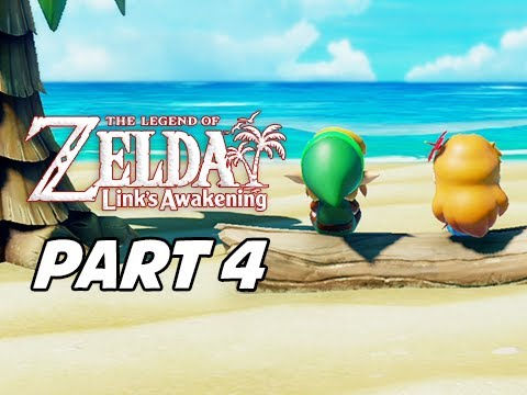 The Legend of Zelda Link's Awakening Walkthrough Gameplay Part 4 - Ballad of the Wind Fish