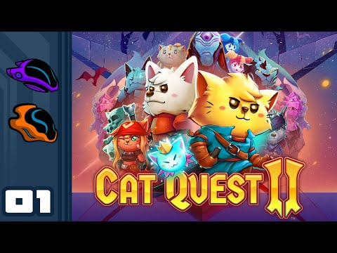 Let's Play Cat Quest 2 [Co-Op] - PC Gameplay Part 1 - Prepurr For Terrible Puns
