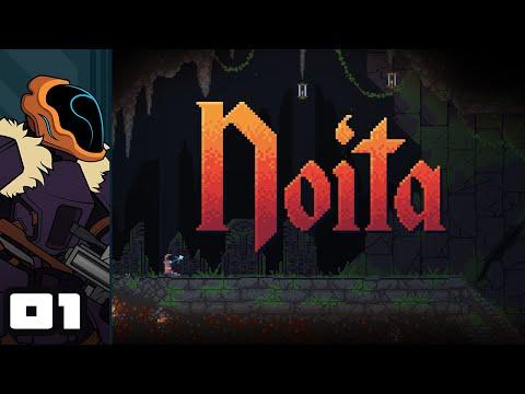 Let's Play Noita - PC Gameplay Part 1 - Wild Magic