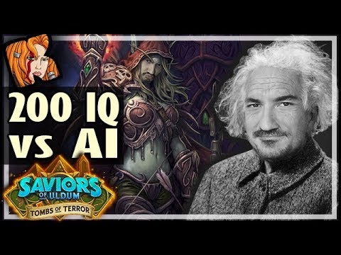 200IQ vs THE AI BOSS! - Tombs of Terror Heroic Hearthstone