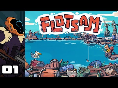 Let's Play Flotsam (Early Access) - PC Gameplay Part 1 - We All Live On A Town Made Of Trash