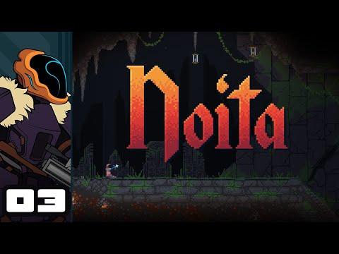 Let's Play Noita - PC Gameplay Part 3 - Dwarfin' It