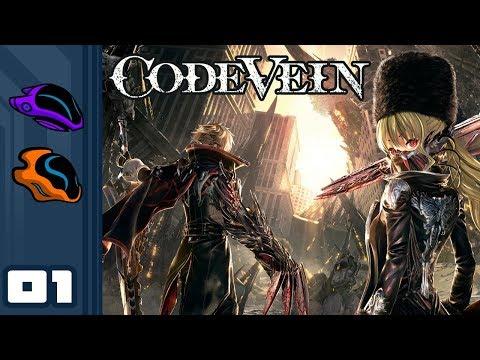 Let's Play Code Vein [Co-Op] - PC Gameplay Part 1 - Edge Souls