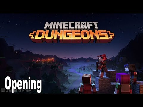 Minecraft Dungeons - Opening Cinematic MineCon 2019 [HD 1080P]