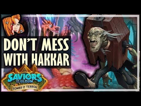 YOU DON'T MESS WITH HAKKAR! - Tombs of Terror Heroic Hearthstone