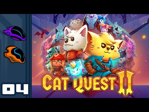 Let's Play Cat Quest 2 [Co-Op] - PC Gameplay Part 4 - Hairy Pawter