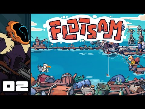 Let's Play Flotsam (Early Access) - PC Gameplay Part 2 - Questionably Plural